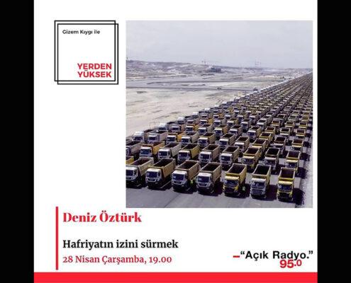 Program tanıtım posteri. Posterde 3. havalimanında 1453 adet kamyonun dizildiği fotoğraf kullanılmış.
